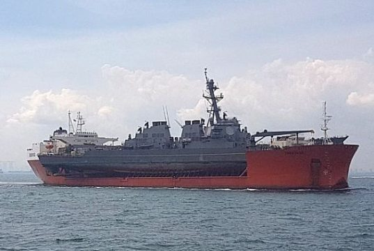 (U.S. Navy photo courtesy of the Singapore Ministry of Defense/Released)
